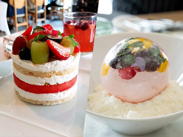 Cuci Mata dan Mulut dengan Dessert Unik di Kafe Sona