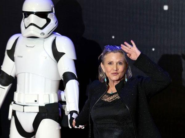 Sebelum Meninggal, Carrie Fisher 'Star Wars' Minta Jenazahnya Dikremasi