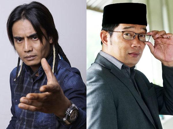 Charly 'Setia Band' Ajukan Diri Jadi Pendamping Ridwan Kamil
