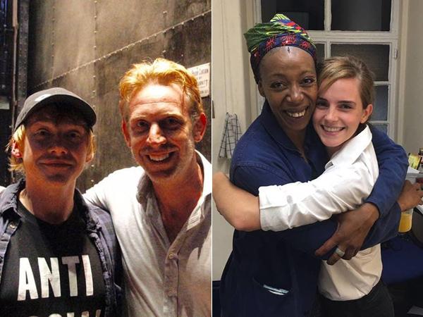 Ron dan Hermione Muda Bertemu Versi Dewasa di Teater 'Harry Potter and The Cursed Child'!