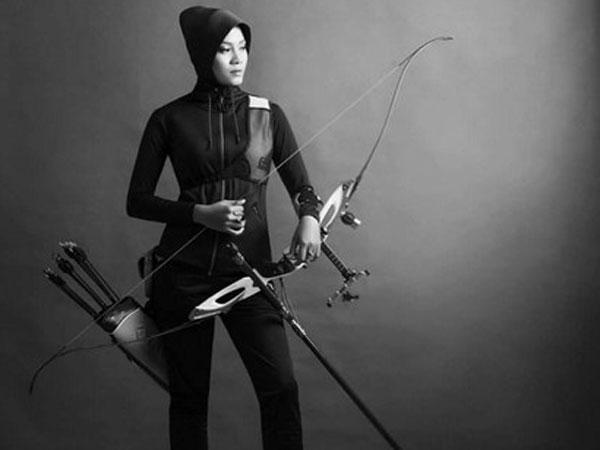 Sosok Diana, Si Atlet Panahan Berhijab yang Siap Bertanding di Asian Games 2018