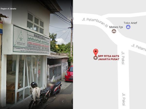DPP FPI Pusat Berubah Jadi 'Fitsa Hats' di Maps, Ini Permintaan Maaf dan Penjelasan Google