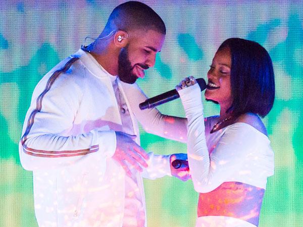 Tidak Hanya Lewat Papan Reklame, Drake Ungkapkan Cinta ke Rihanna di Panggung MTV Music Awards 2016