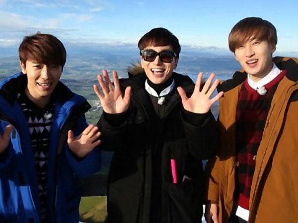 Jalan-jalan di Swiss, Member Super Junior Dikira Pelawak?