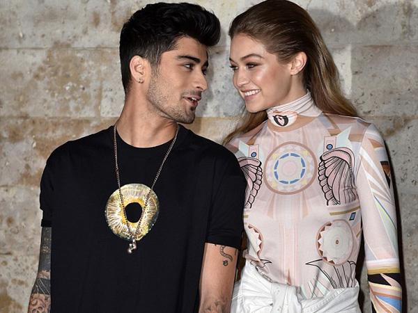 Setelah London, Gigi Hadid dan Zayn Malik Makin 'Lengket' di Paris Fashion Week