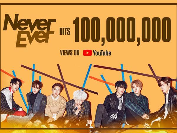 MV 'Never Ever' Tembus 100 Juta Views, GOT7 Beri Hadiah Spesial untuk Fans