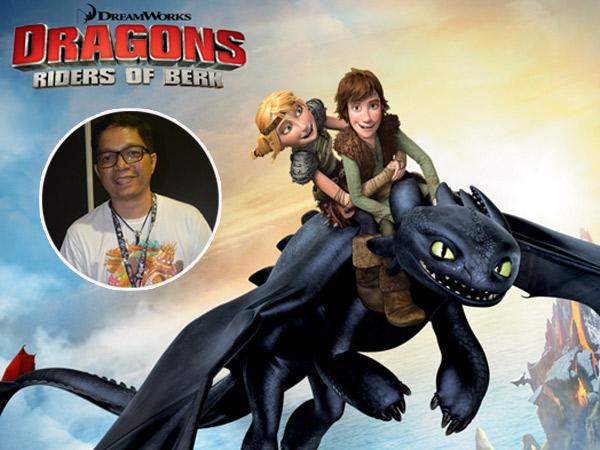 Kenalan Dengan Iwan Nazif, 'Comic Artist' 'How To Train Your Dragon' Asal Indonesia!