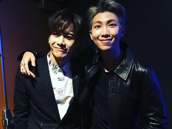 Jackson GOT7 Bagikan Momen Pertemuan dengan RM BTS di American Music Awards 2017