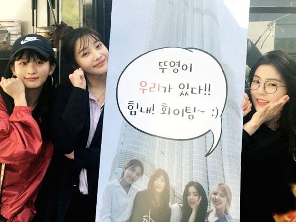 Manisnya Dukungan Member Red Velvet untuk Joy di Drama 'Tempted'