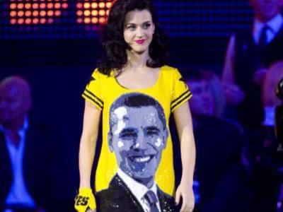 Katy Perry Bernyanyi Untuk Obama