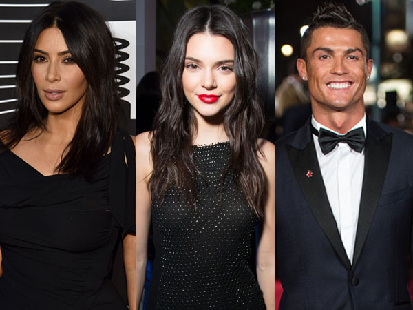Jadi Mak Comblang, Kim Kardashian Jodohkan Kendall Jenner dengan Christiano Ronaldo