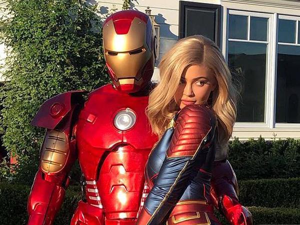 Kylie Jenner Buat Kejutan Ultah Pacar Serba 'Avengers: Endgame'