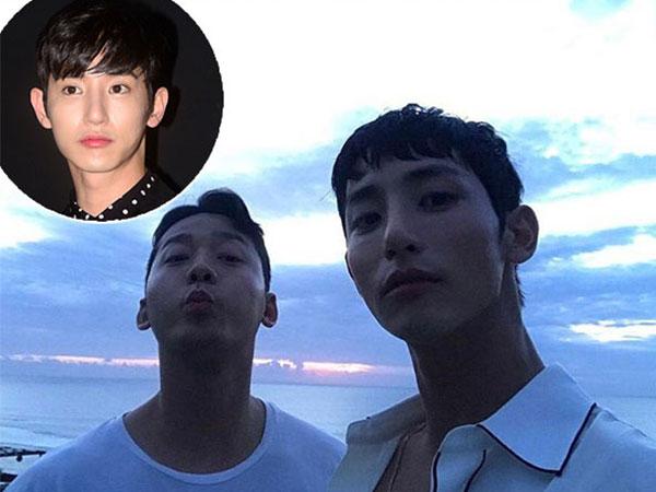 Diam-diam Lee Soo Hyuk Juga Kerja Sambil Liburan di Bali!