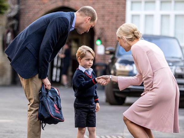 Mengintip Menu Makan Siang Mewah di Sekolah Pangeran George