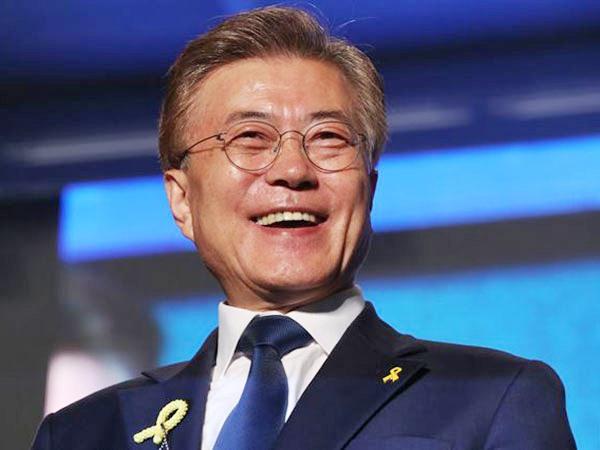 Capres Demokrat Moon Jae In Terpilih Jadi Presiden Baru Korea Selatan
