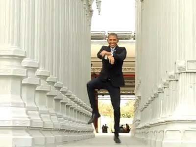 Rayakan Kemenangan, Obama Bergoyang Gangnam Style