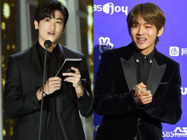 Bromance Park Hyungsik dan V BTS yang Bikin Heboh di '27th Seoul Music Awards'