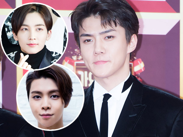 Ups, Lucunya Sehun EXO Kedapatan Salah Orang Saat Syuting 'Idol Star Athletic Championship'!