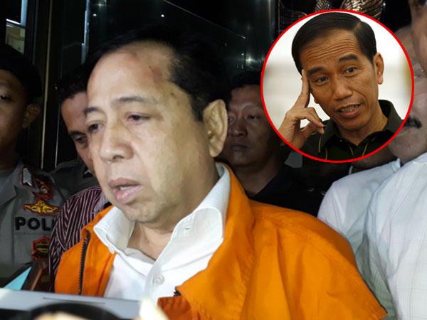 Setya Novanto Ajukan Surat Perlindungan ke Jokowi dan Dua Lembaga Penegak Hukum