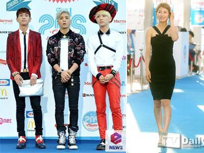 Gemerlap Gaya Seleb Korea di 20's Choice Awards