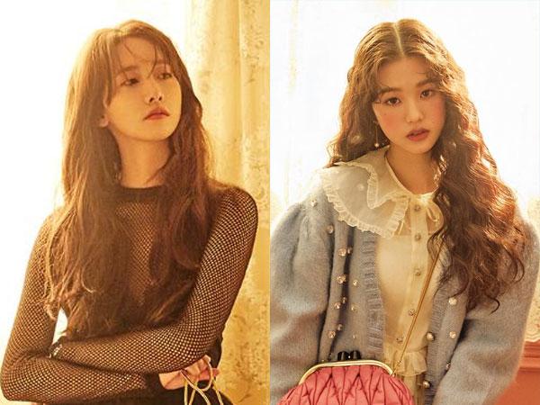 Gaya Vintage YoonA SNSD dan Wonyoung IZ*ONE di Pemotretan Miu Miu