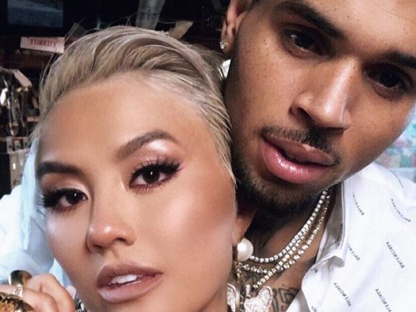 Pamer Foto Mesra Lagi, Benar Untuk Proyek Kolaborasi Chris Brown dan Agnez Mo?