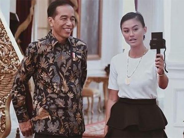 Penampilan Simpel Agnez Mo Ketika Bertemu Presiden Jokowi Ternyata Habiskan Ratusan Juta!