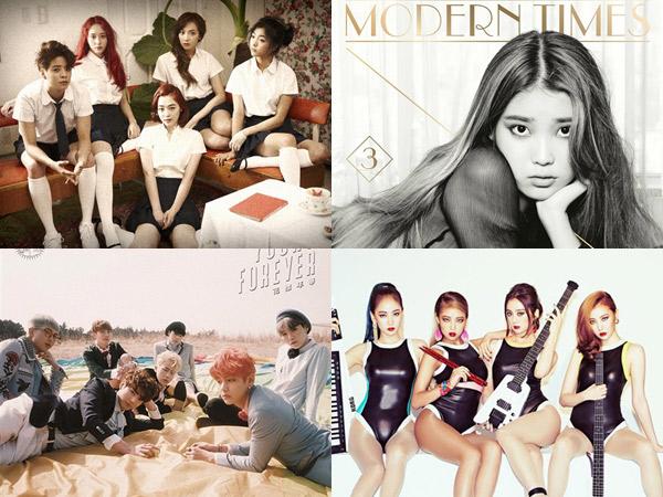 Inilah 25 Album K-Pop Terbaik di Era 2010-an versi Billboard