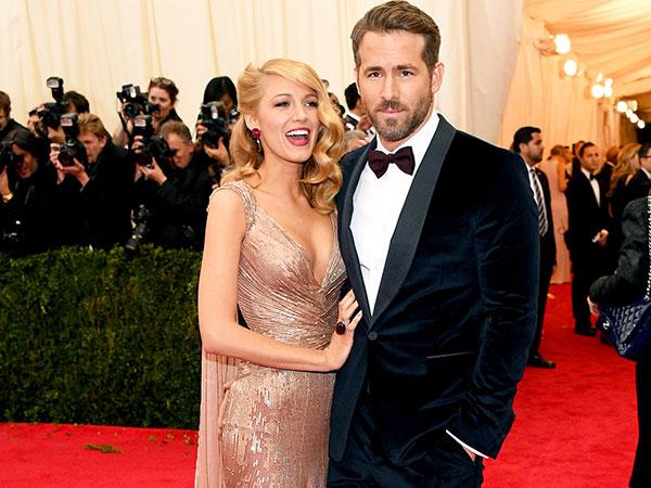 Benarkah Ryan Reynolds Beri Nama 'Anaconda' Untuk Putri Pertamanya dengan Blake Lively?
