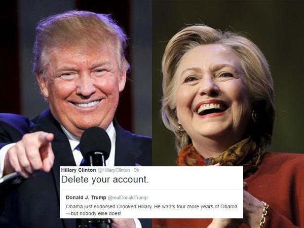 Mantapkan Posisi, Dua Calon Presiden AS Ini Perang di Twitter Hingga Bikin Trending Topic