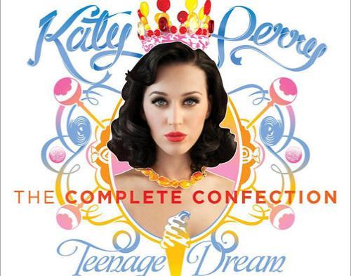 Katy Perry Luncurkan Cover Album Baru