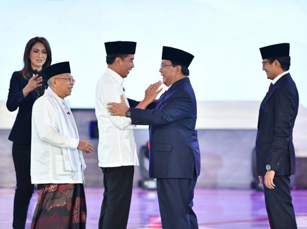 Adu Visi 'Indonesia Maju' Jokowi-Ma'ruf VS 'Indonesia Menang' Prabowo-Sandi