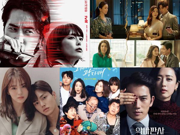 Persaingan Rating 5 Drama Korea Sabtu Malam, Siapa Unggul?
