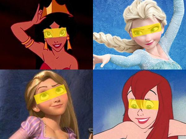 Ini Bukti Jika Mata Para Disney Princess Lebih Besar Dari Perut Mereka!