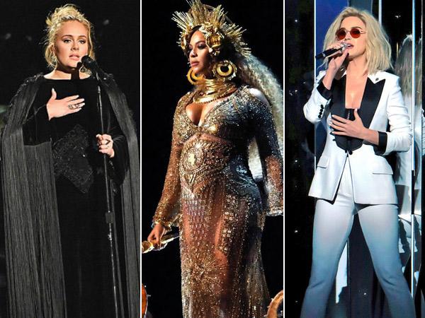 Red Carpet Hingga Panggung, Intip Perubahan Gaya Fashion Para Selebriti di Grammy Awards 2017