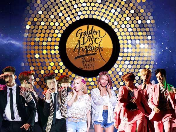Siapkan Tiga Kategori, Ini Daftar Nominator dari 'Golden Disk Awards 2016'!
