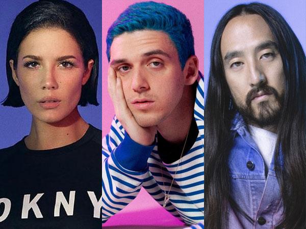 Halsey, Lauv, dan Steve Aoki Akan Meriahkan Konser Akhir Tahun BigHit Labels