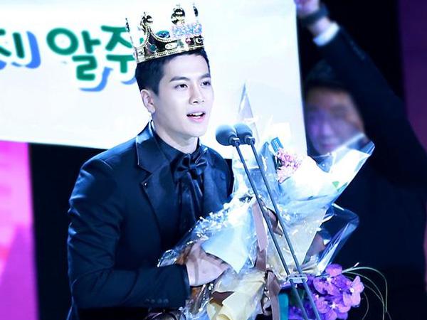 Wow, Jackson GOT7 Raih Penghargaan Solo Pertamanya di SBS Entertainment Awards!