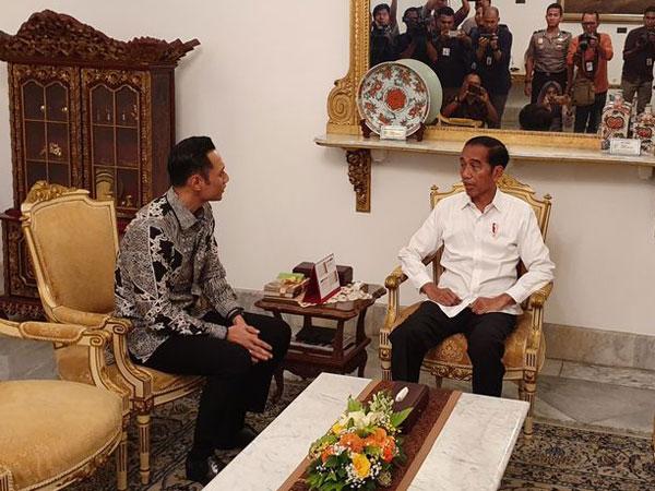 Teka-teki Pertemuan AHY dengan Presiden Jokowi di Tengah Kericuhan Aksi Massa 22 Mei