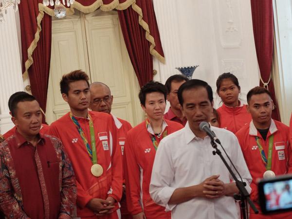 Ucapan Selamat Presiden Jokowi untuk Owi-Butet di Olimpiade Rio Jadi 'Golden Tweet' Twitter Indonesia