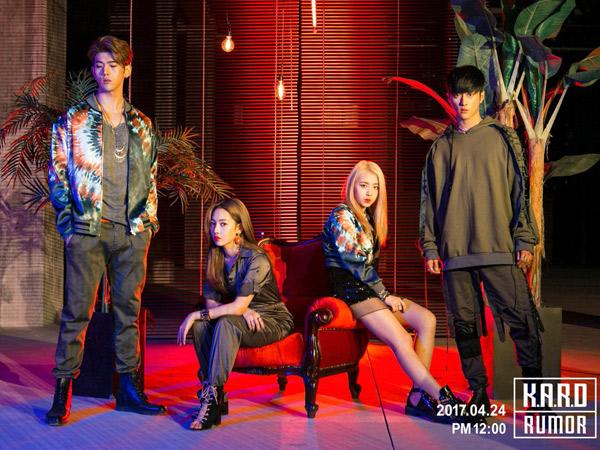 K.A.R.D Hadirkan Inovasi Video Musik Vertikal Untuk MV Comeback 'Rumor'
