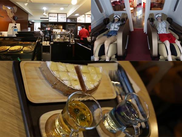 Mengintip Keseruan Saat Mengunjungi Kafe Pesawat di Korea Selatan