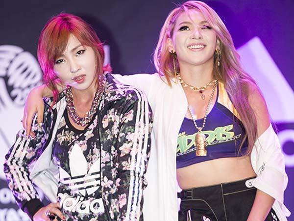 Bukti Ini Tunjukan CL dan Minzy Eks 2NE1 Masih Berhubungan Baik
