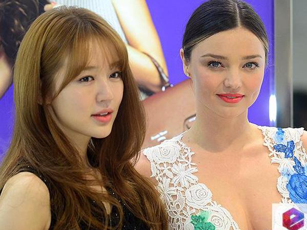 Intip Cantiknya Miranda Kerr dan Yoon Eun Hye di Event Brand Fashion Samantha Thavasa