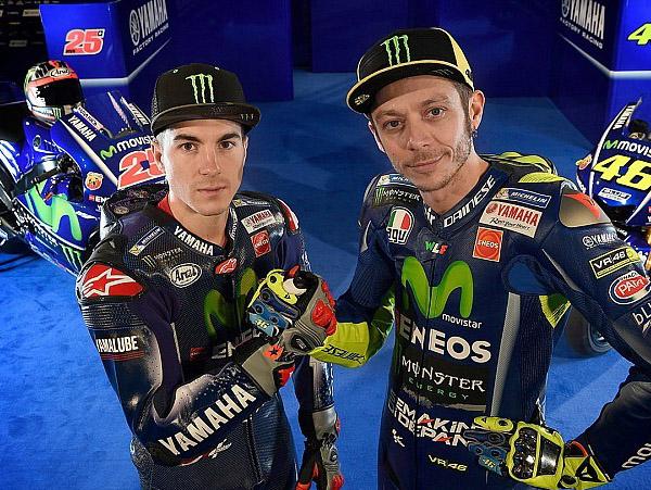 Soal Vinales dan Rossi, Bos Yamaha: Mereka Punya Peluang Sama untuk Menang