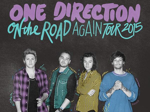 One Direction Rilis Poster Tur Resmi dengan Formasi Terbaru!