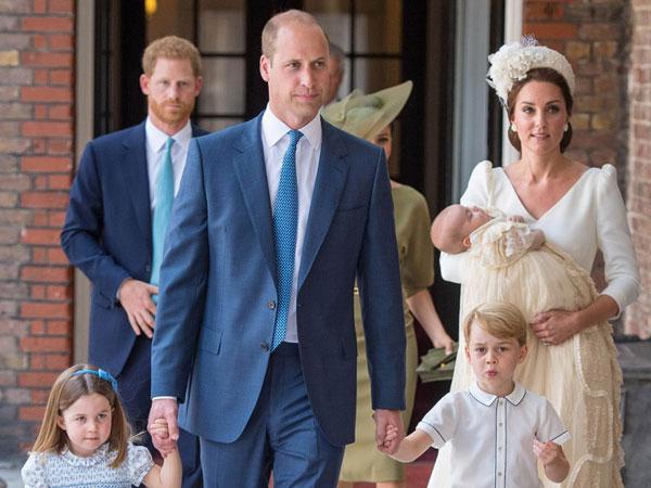 Pangeran Louis Dibaptis, Ratu Elizabeth II Absen Acara Keluarga Kerajaan