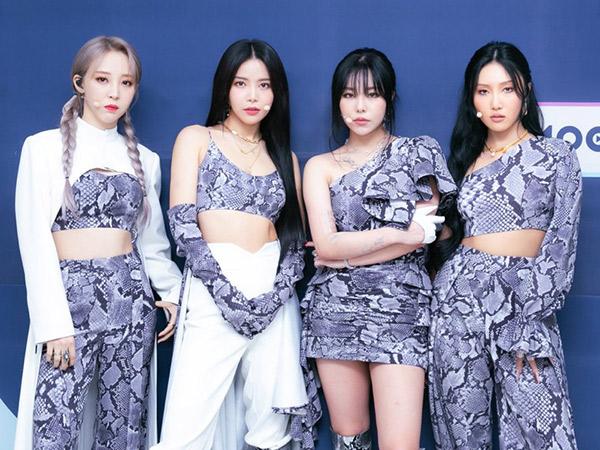 MAMAMOO Pecahkan Rekor Pribadi Penjualan Album Minggu Pertama