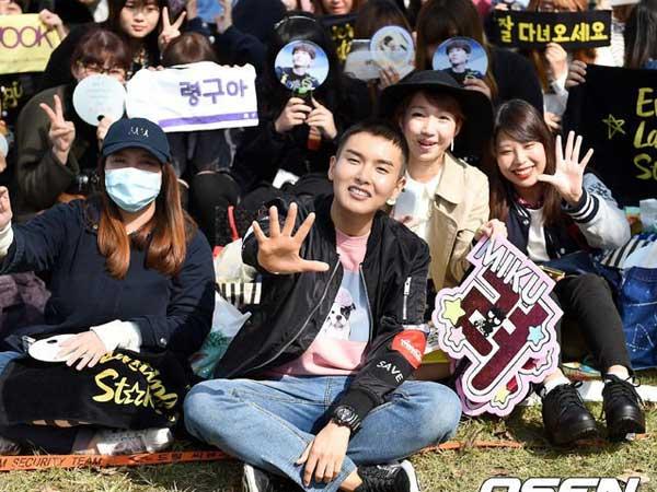 Beri Salam Perpisahan, Ini Janji Ryeowook SuJu Pada Fans Sebelum Masuki Pelatihan Militer