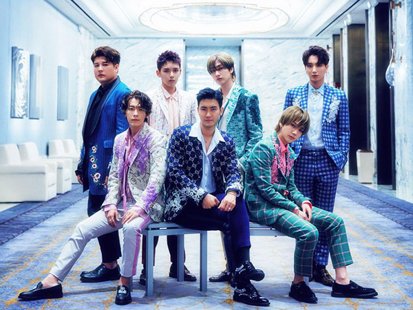 'One More Time' Tanpa Heechul, Super Junior Kharismatik di Foto Teaser Perdana